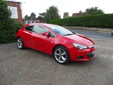 Vauxhall Astra GTC 1.4i 16v Turbo (140ps) SRi (s/s) Coupe 3d 1364cc