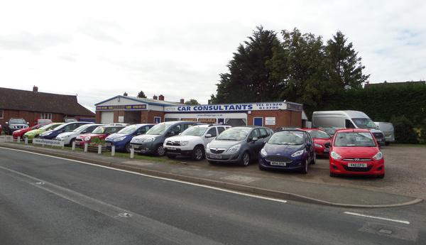 Car lot - Car Consultants - Warwickshire